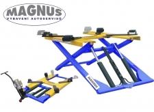 Pojízdný nízkozdvižný nůžkový zvedák 2800 kg